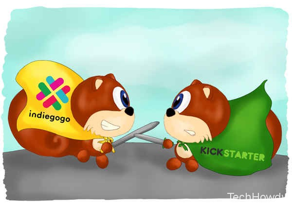 Indiegogo vs Kickstarter funds