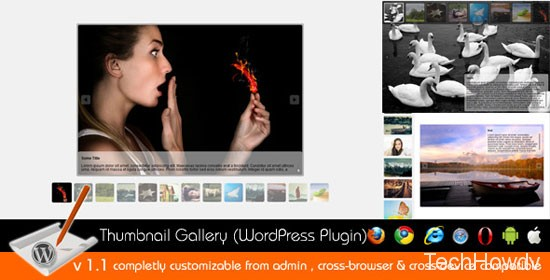 Thumbnail Gallery Plugin WordPress