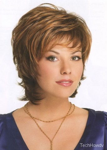 short hair layered hairstyles
