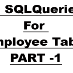 Practice SQL Queries with Solutions For Employee Table