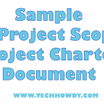 Sample IT Project Scope and Project Charter Document Example
