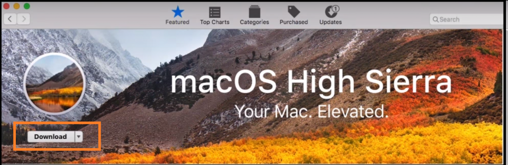 Download macOS High Sierra From App Store
