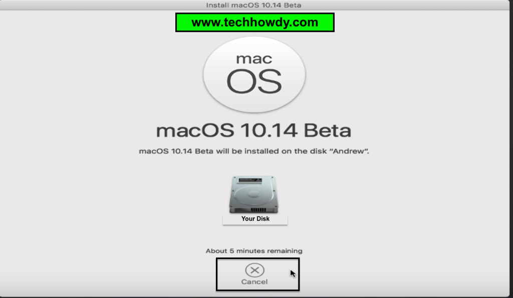 Install Hackintosh macOS Mojave on SSD - 5
