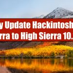 Directly Update Hackintosh macOS Sierra to High Sierra 10.13.6